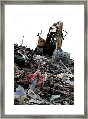 The Aftermath Framed Print by Kreddible Trout