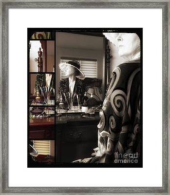 The Age Of Victorian Beauty  Framed Print by Steven Digman