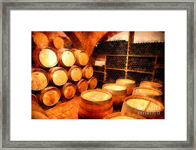 The Aging Room Framed Print by Edward Fielding