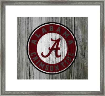 The Alabama Crimson Tide C1             Framed Print by Brian Reaves