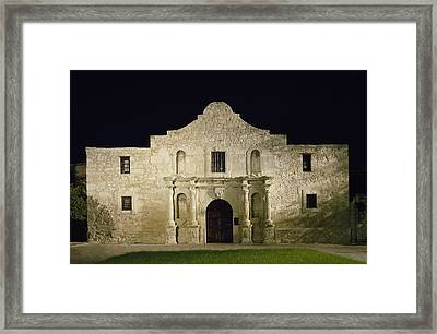 The Alamo, San Antonio, Texas. It Framed Print by Everett