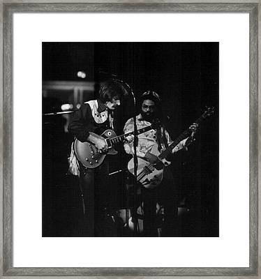 The Allman Brothers Dicky Betts Framed Print by Don Struke