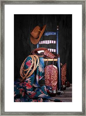 The American West Framed Print by Tom Mc Nemar