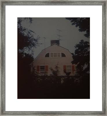 The Amityville Horror Framed Print by Rob Hans