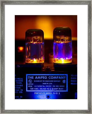 The Ampeg B15 Framed Print by John Gryphon
