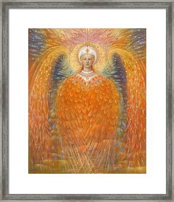 The Angel Of Justice Framed Print by Annael Anelia Pavlova