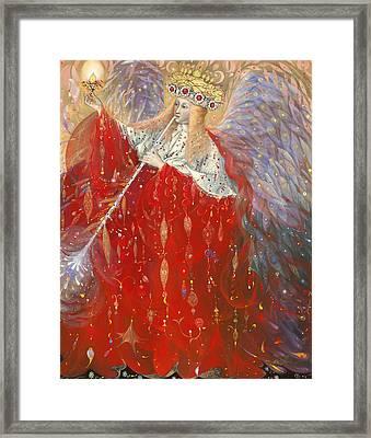 The Angel Of Life Framed Print by Annael Anelia Pavlova