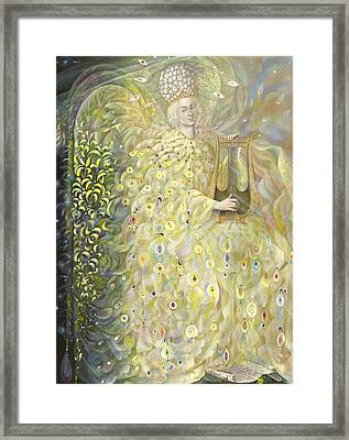 The Angel Of Wisdom Framed Print by Annael Anelia Pavlova