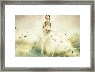 The Angle Framed Print by Buchachon Petthanya