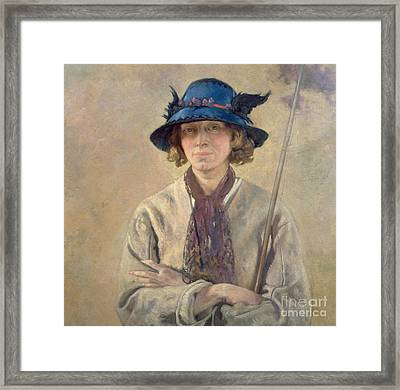The Angler, 1912 Framed Print by Sir William Orpen