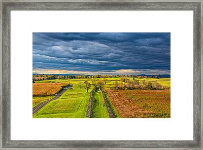 The Antietam Battlefield Framed Print by John M Bailey