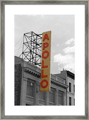 The Apollo In Harlem Framed Print by Danny Thomas