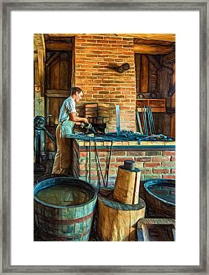 The Apprentice 3 - Paint Framed Print by Steve Harrington