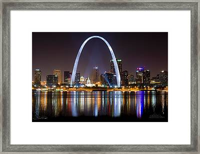 The Arch Framed Print by Shane Psaltis