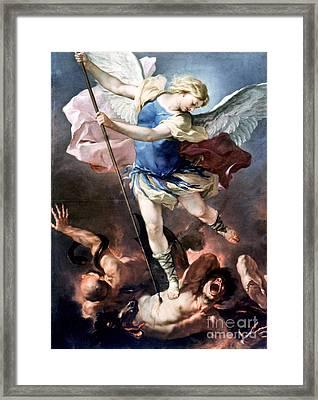 The Archangel Michael Framed Print by Granger