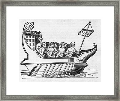 The Argo, 17th Century Artwork Framed Print by Middle Temple Library