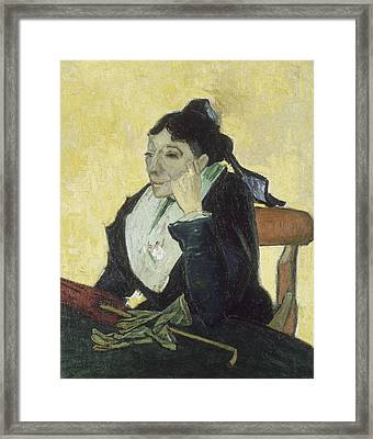 The Arlesienne Framed Print by Vincent van Gogh
