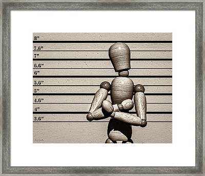 The Arrest  Framed Print by Bob Orsillo