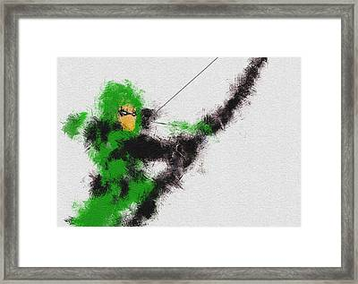 The Arrow Of Justice Framed Print by Miranda Sether