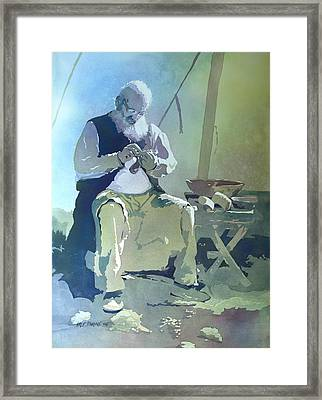 The Artisan Framed Print by Kris Parins