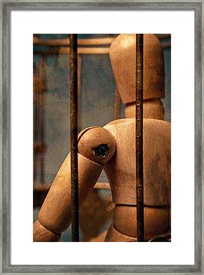 The Artist Framed Print by Jeff  Gettis