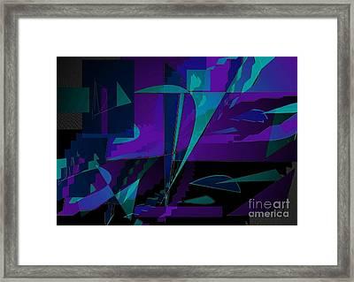 The Ascension Framed Print by Vicki Lynn Sodora