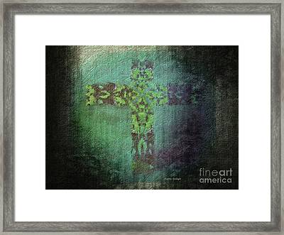 The Atonement Framed Print by Sandra Gallegos