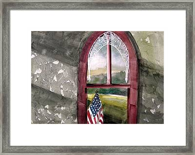 The Attic Window Framed Print by John  Williams