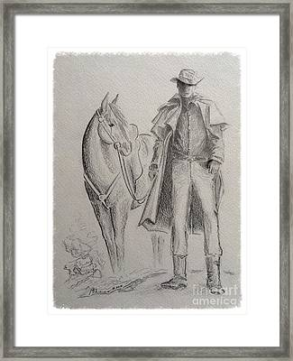 The Aussie Framed Print by Barbara Chase