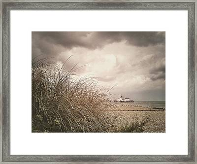 The Back Of Beyond  Framed Print by Connie Handscomb