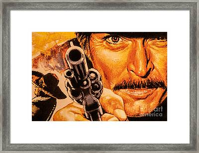 The Bad Framed Print by Charuhas Images