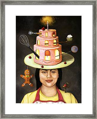The Baker Framed Print by Leah Saulnier The Painting Maniac