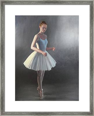 The Ballerina Framed Print by Elizabeth Jose