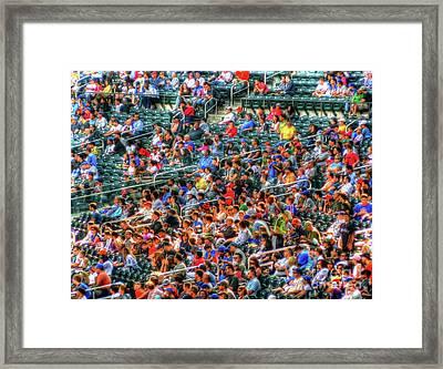 The Ballgame Framed Print by Jeff Breiman