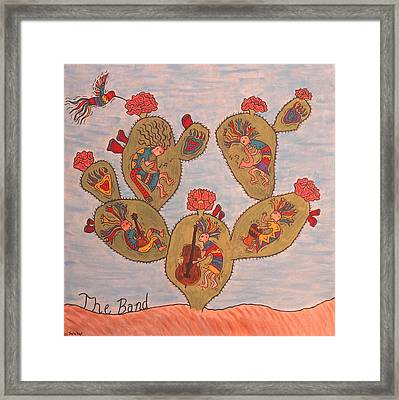The Band Framed Print by Susie WEBER