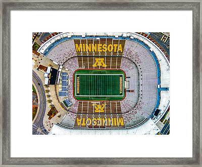 The Bank Framed Print by Mark Goodman