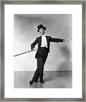 The Barkleys Of Broadway,  Fred Framed Print by Everett