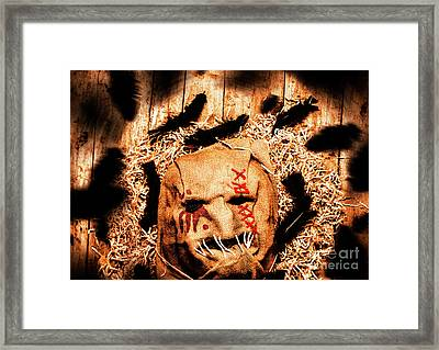 The Barn Monster Framed Print by Jorgo Photography - Wall Art Gallery