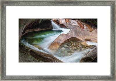 The Basin Framed Print by Bill Wakeley