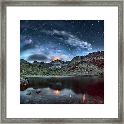 The Beacon Framed Print by Evgeni Dinev
