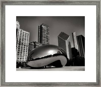 The Bean - 4 Framed Print by Ely Arsha