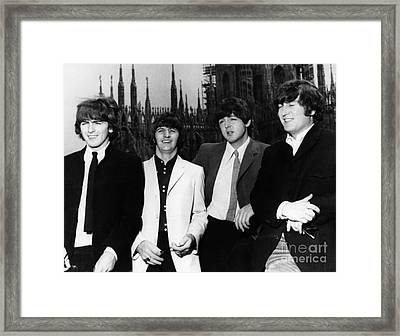 The Beatles, 1960s Framed Print by Granger