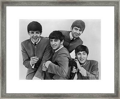 The Beatles, 1963 Framed Print by Granger