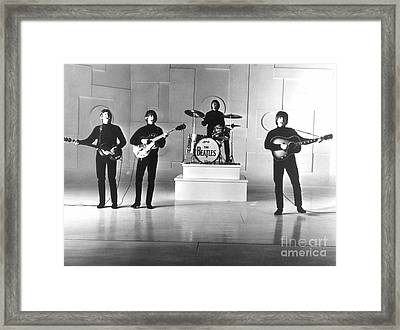 The Beatles, 1965 Framed Print by Granger