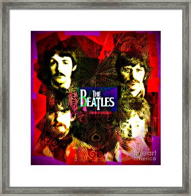The Beatles Framed Print by Kevin Moore