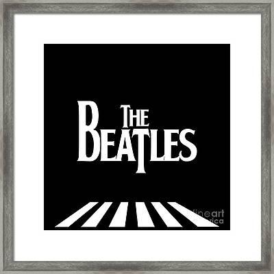 The Beatles No.03 Framed Print by Caio Caldas