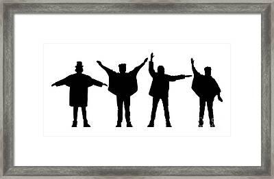 The Beatles No.07 Framed Print by Caio Caldas
