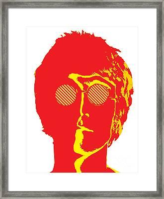 The Beatles No.09 Framed Print by Caio Caldas