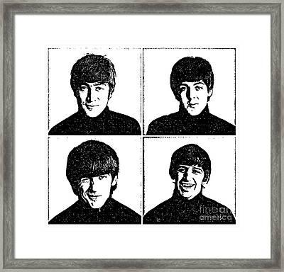 The Beatles No.13 Framed Print by Caio Caldas