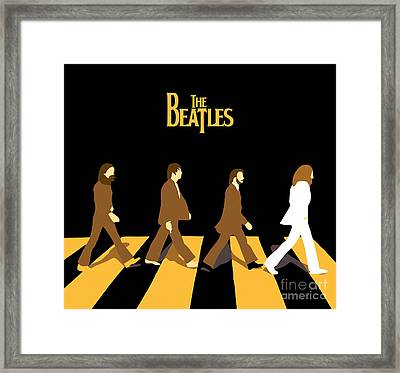 The Beatles No.19 Framed Print by Caio Caldas